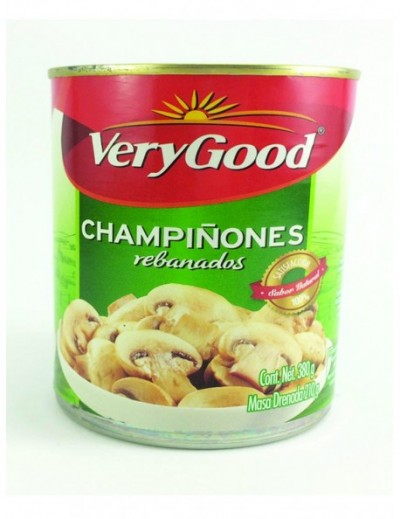 CHAMPIÑON REBANADO VERY GOOD 380G