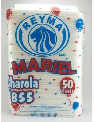 CHAROLA TAQUERA NO855 50 PZAS