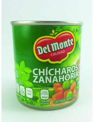 CHICHARO Y ZANAHORIA DEL MONTE 215 GR