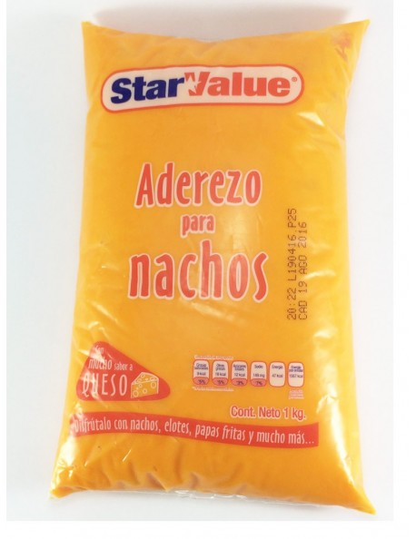 ADEREZO PARA NACHOS STAR VALUE KG