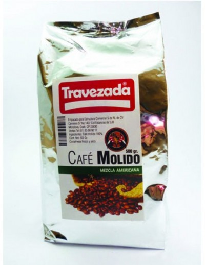CAFE MOLIDO TRAVEZADA 500 GR