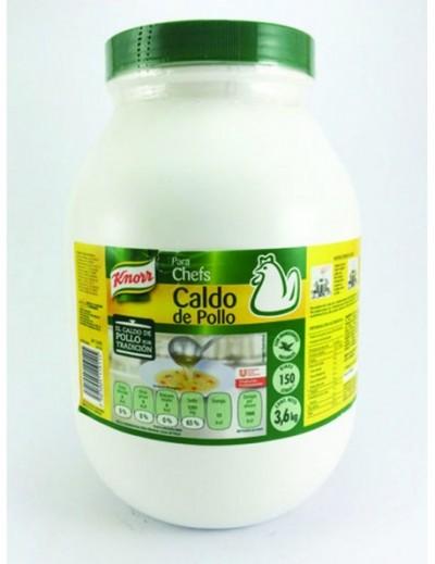 CALDO DE POLLO KNORR 3.6KG