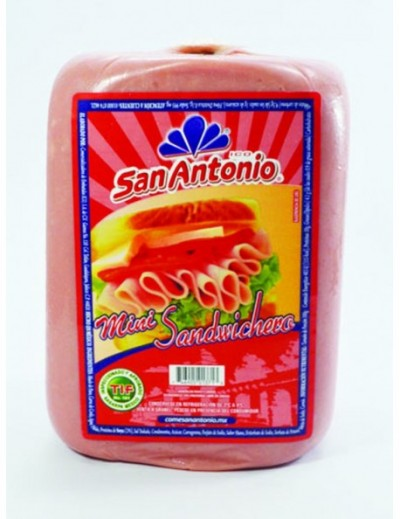 JAMON SANDWICHERO MINI SAN ANTONIO