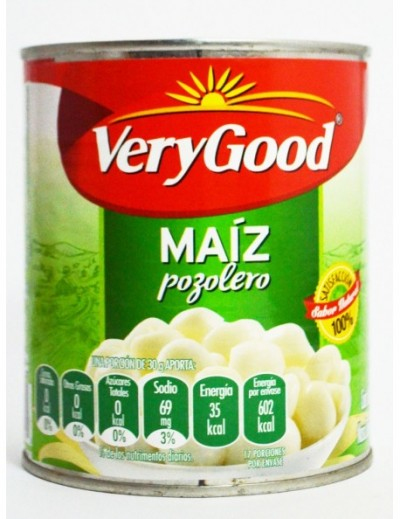 MAIZ POZOLERO VERY GOOD 800GR