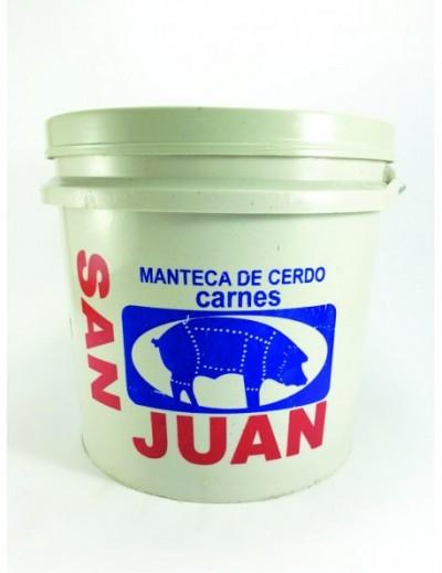 MANTECA EN BOTE SAN JUAN / SN FCO BOTE LTO