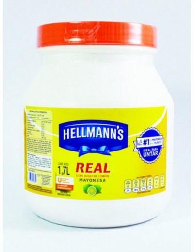 MAYONESA HELLMANS 1.7