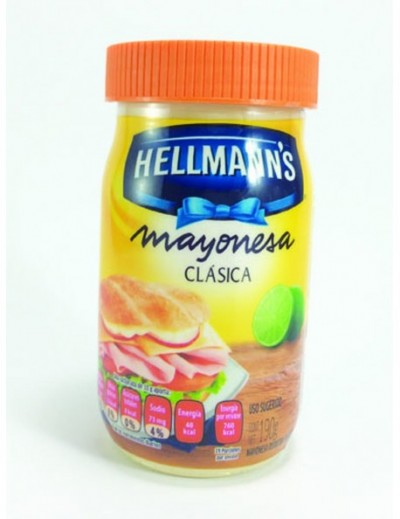 MAYONESA HELLMANS 190 GR