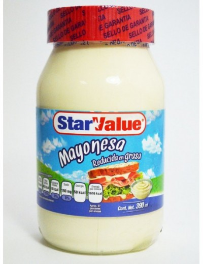MAYONESA STAR VALUE 390 GR