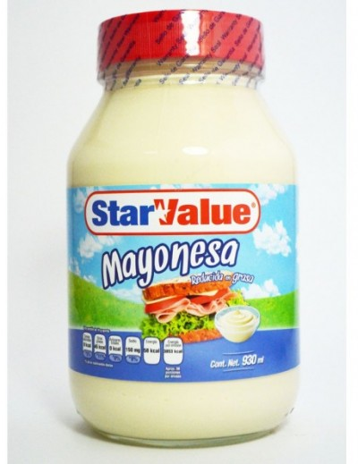 MAYONESA STAR VALUE 920GR