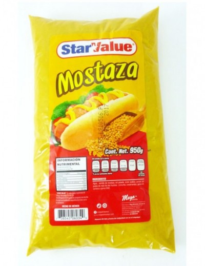 MOSTAZA STAR VALUE  950GR