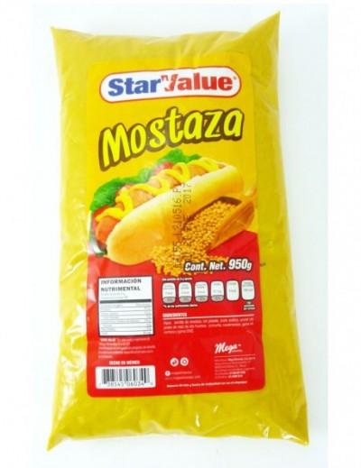 MOSTAZA STAR VALUE  950GR