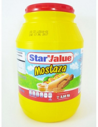 MOSTAZA STAR VALUE GALON