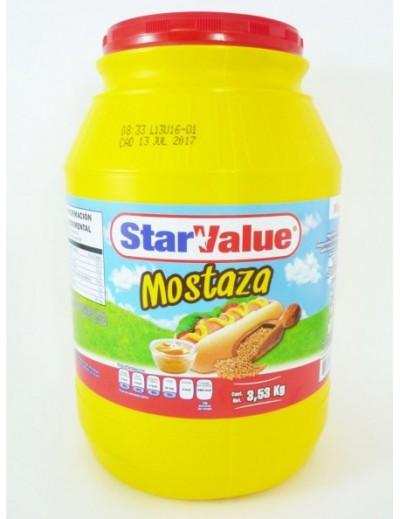 MOSTAZA STAR VALUE GALON