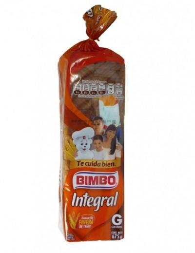 PAN INTEGRAL BIMBO GRANDE