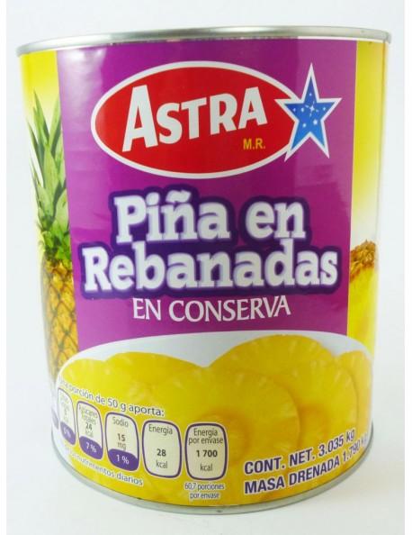 PIÑA REBANADA ASTRA 3K