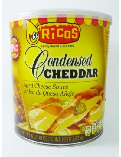 QUESO PARA NACHOS RICOS CHEDDAR 3.03 KG