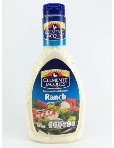 ADEREZO RANCH CLEMENTE JACQUES 473ML