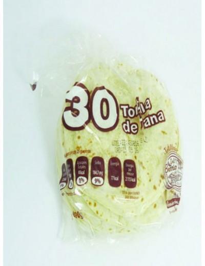 TORTILLA DE HARINA DEL BARRIO C/30