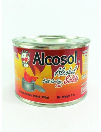 ALCOHOL SOLIDO ESTERNO 250GR