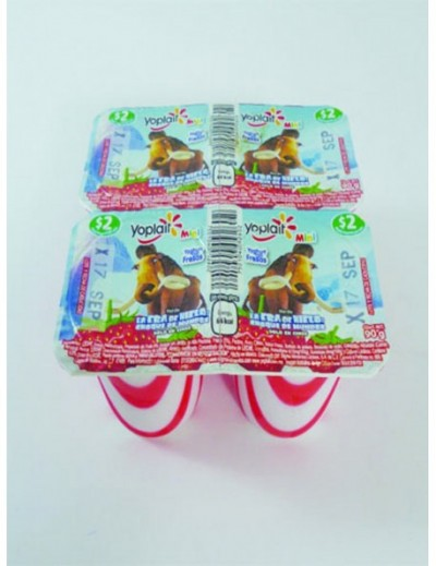 YOGURTH MINI BATIDO  FRESA  90GR