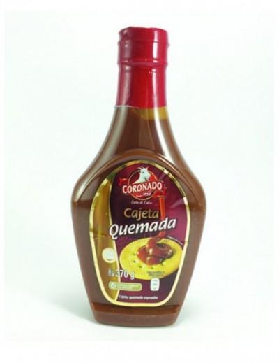 CAJETA CORONADO QUEMADA PLASTICO  370GR